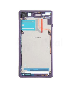 Front Housing Bezel Replacement for Sony Xperia Z2 - Purple