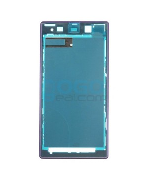 Front Housing Bezel Replacement for Sony Xperia Z1 L39H - Purple