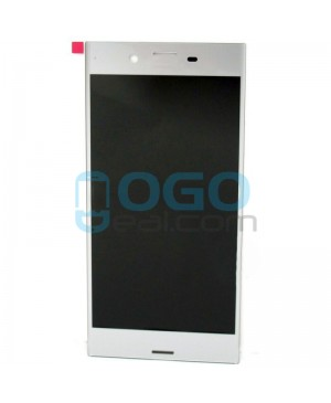 For Sony Xperia XZ LCD & Touch Screen Assembly Replacement - Silver