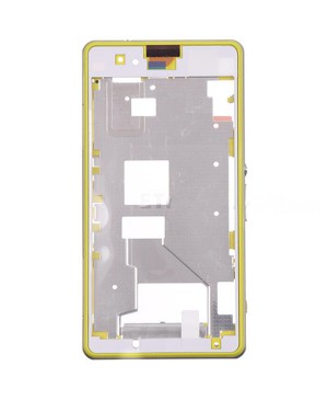 Front Housing Bezel Replacement for Sony Xperia Z1 Compact/Z1 Mini - Yellow