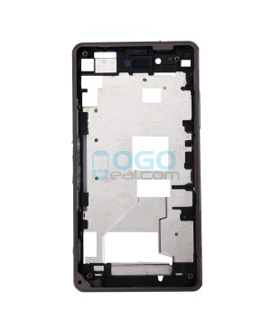 Front Housing Bezel Replacement for Sony Xperia Z1 Compact/Z1 Mini - Black