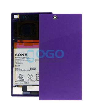 Battery Door/Back Cover Replacement for Sony Xperia Z Ultra XL39H Purple