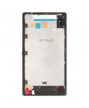 OEM Front Housing Bezel Replacement for Sony Xperia ZL L35h - Black