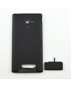 OEM Battery Door/Back Cover Replacement for Sony Xperia ZL L35h Black