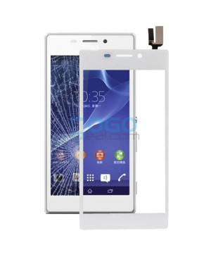 Digitizer Touch Glass Panel Replacement for Sony Xperia M2 D2303 White