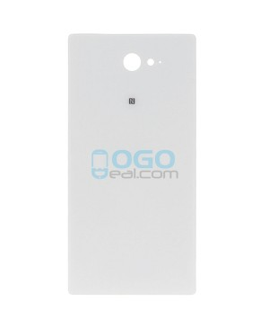 Battery Door/Back Cover Replacement for Sony Xperia M2 D2303 White Ori