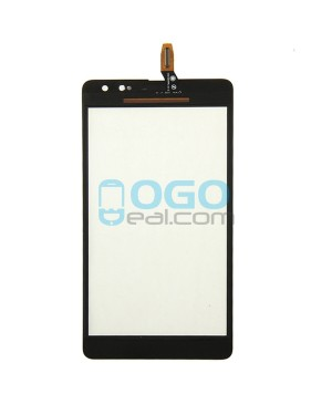 Digitizer Touch Glass Panel Replacement for Nokia Microsoft Lumia 535 CT2C1607 Black
