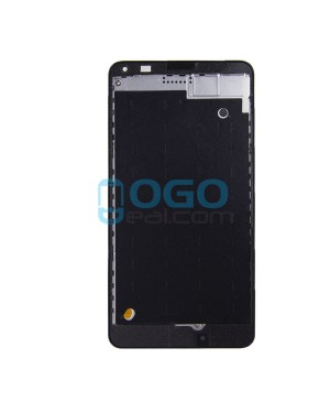 Front Housing Bezel Replacement for Nokia Microsoft Lumia 640 - Black