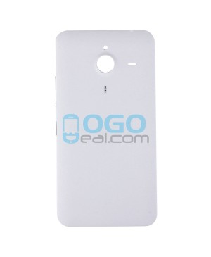 Battery Door/Back Cover Replacement for Nokia Microsoft Lumia 640XL - White
