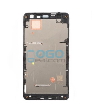 Front Housing Bezel Replacement for Nokia Lumia 625 - Black