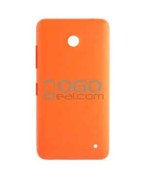 Battery Door/Back Cover Replacement for Nokia Lumia 630 - Orange