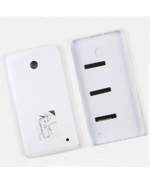 Battery Door/Back Cover Replacement for Nokia Lumia 635 - White
