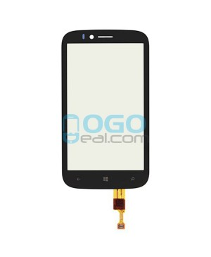 Digitizer Touch Screen Replacement for Nokia Lumia 822 - Black