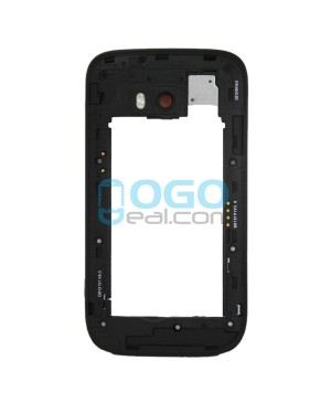 Rear Housing Bezel Replacement for Nokia Lumia 822 - Black