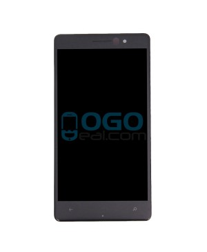 LCD & Digitizer Touch Screen Assembly Replacement for Nokia Lumia 830 - Black