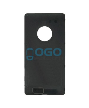 Battery Door/Back Cover Replacement for Nokia Lumia 830 - Black