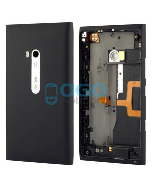 Battery Door/Back Cover Replacement for Nokia Lumia 900 - Black