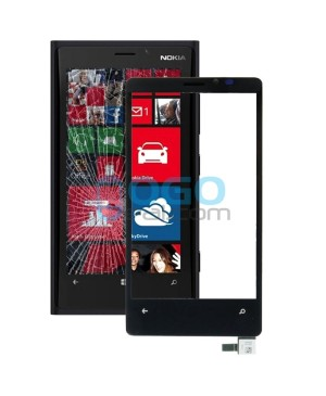 Digitizer Touch Glass Panel Replacement for Nokia Lumia 920 Black