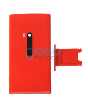 Battery Door/Back Cover Replacement for Nokia Lumia 920 - Red