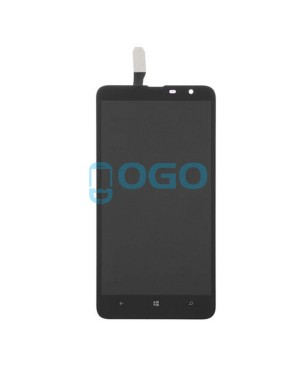 LCD & Digitizer Touch Screen Assembly Replacement for Nokia Lumia 1320 - Black