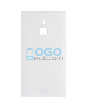 Battery Door/Back Cover Replacement for Nokia Lumia 1520 - White
