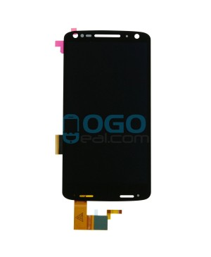 LCD & Digitizer Touch Screen Assembly Replacement for Motorola Droid Turbo 2 - Black