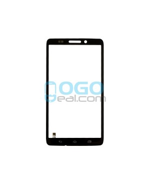 Front Outer Screen Glass Lens Replacement for Motorola Droid Ultra XT1080 - Black