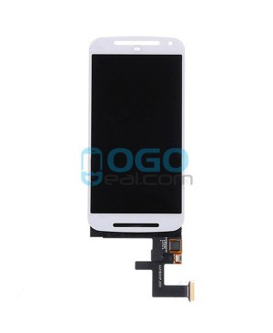 LCD & Digitizer Touch Screen Assembly Replacement for Motorola Moto G (2nd Gen) - White