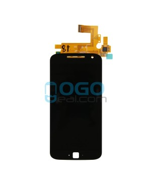 LCD & Digitizer Touch Screen Assembly Replacement for Motorola Moto G4 Plus - Black