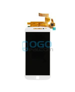 LCD & Digitizer Touch Screen Assembly Replacement for Motorola Moto G4 Plus - White