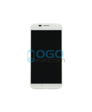 LCD & Digitizer Touch Screen Assembly Replacement for Motorola Moto X - White