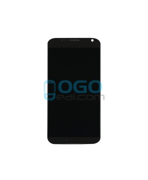 LCD & Digitizer Touch Screen Assembly With Frame replacement for Motorola Moto X - Black