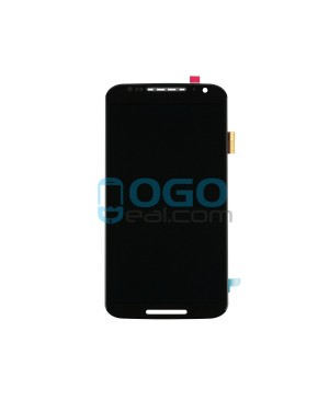LCD & Digitizer Touch Screen Assembly Replacement for Motorola Moto X (2nd Gen) - Black