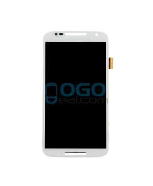 LCD & Digitizer Touch Screen Assembly Replacement for Motorola Moto X (2nd Gen) - White