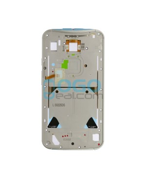 Front Housing Bezel Replacement for Motorola Moto X (2nd Gen) - White