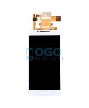 LCD & Digitizer Touch Screen Assembly Replacement for Motorola Moto X Play XT1561 XT1562 XT1563 - White