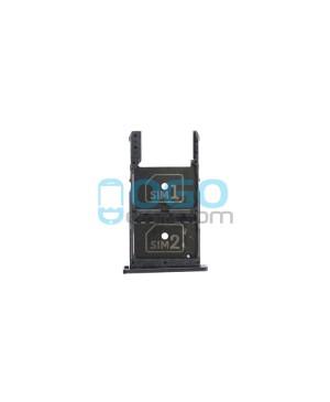 Dual SIM/Micro SD Card Tray Replacement for Motorola Moto X Play XT1561 XT1562 XT1563 - Black
