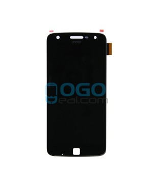 OEM LCD & Digitizer Touch Screen Assembly Replacement for Motorola Moto Z Play - Black