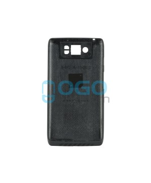 Battery Door/Back Cover Replacement for Motorola Droid Ultra XT1080 - Black