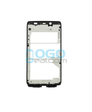 Front Housing Bezel Replacement for Motorola Droid Ultra XT1080 - Black