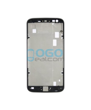 Front Housing Bezel Replacement for Motorola Moto G4 Plus - Black