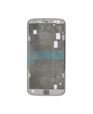 Front Housing Bezel Replacement for Motorola Moto G4 Plus - White