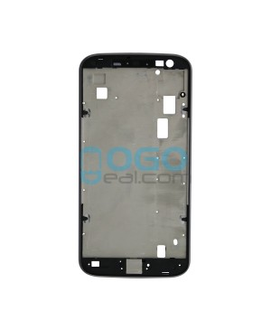 Front Housing Bezel Replacement for Motorola Moto G4 - Black