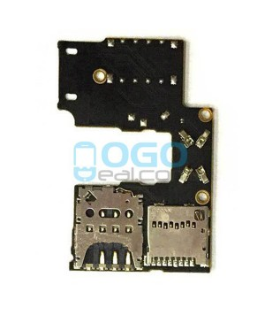 SIM SD Card Reader Flex Cable Replacement for Motorola Moto G (3rd Gen)