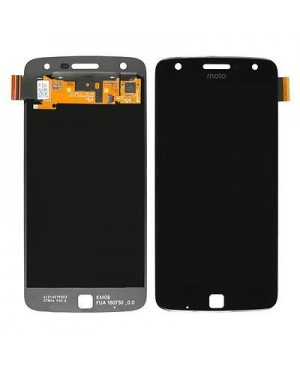 LCD & Digitizer Touch Screen Assembly Replacement for Motorola Moto Z Droid - Black