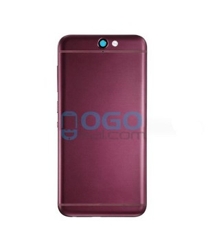 Battery Door/Back Cover Replacement for HTC One A9 - Dark Red