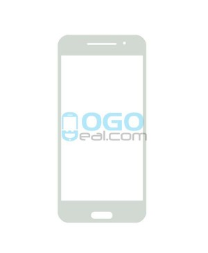 Front Outer Screen Glass Lens Replacement for HTC One A9 - White