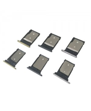 SIM/Micro SD Card Tray Replacement for HTC One A9 - Black