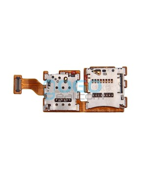 SIM SD Card Reader Connector Flex Cable Replacement for HTC One A9