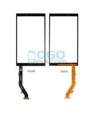 Digitizer Touch Glass Panel Replacement for HTC One E9+ Black